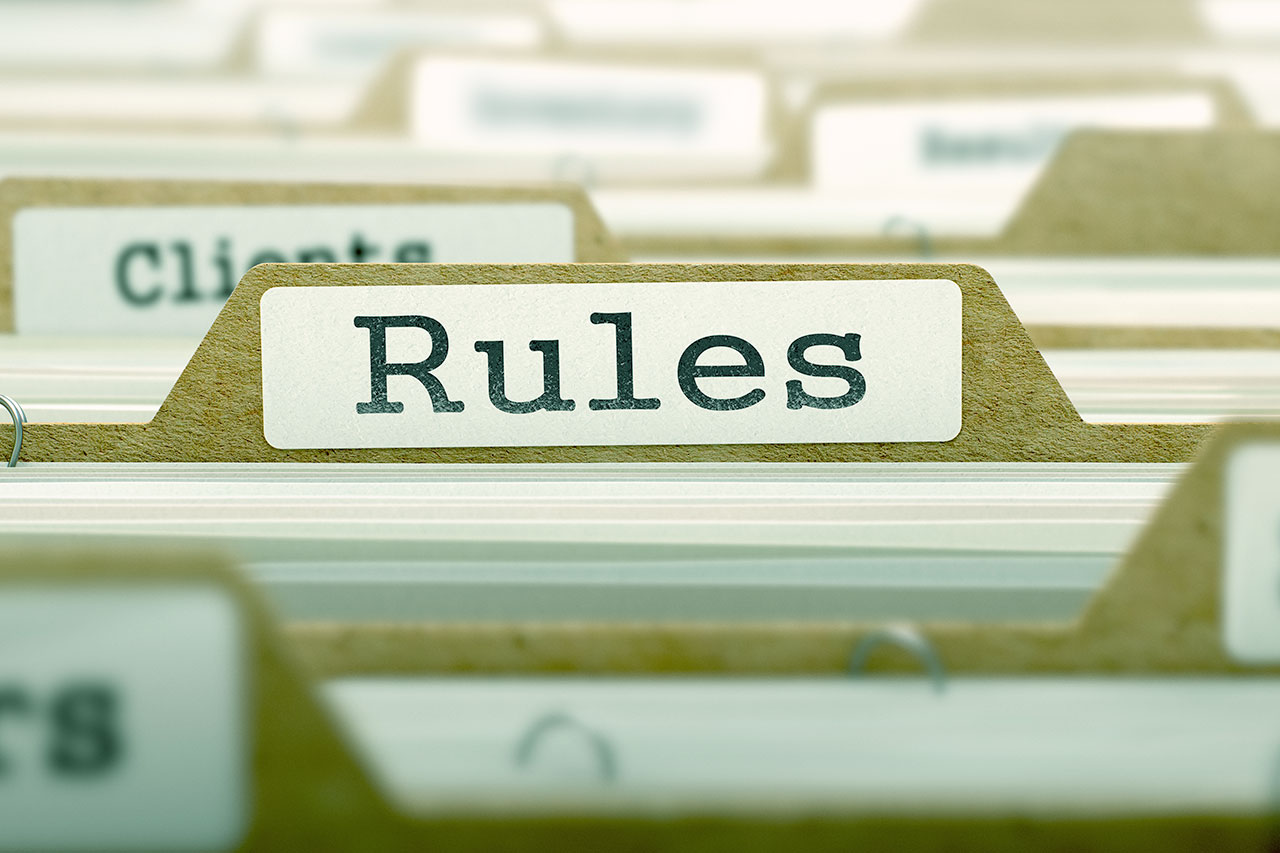 Filing Rules – the good stuff